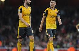 Cựu sao Man United hết lời ca ngợi cặp trung vệ của Arsenal