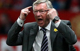 Sir Alex: '27 năm ở Man United, tôi chỉ 'sấy tóc' có 6 lần'