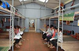 Học sinh Sơn La hồ hởi với trường học bán trú khang trang