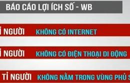 WB: 60% dân số thế giới không được tiếp cận Internet