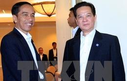 Thủ tướng Nguyễn Tấn Dũng hội kiến Tổng thống Indonesia