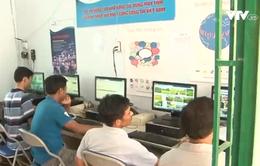 Nhiều xã miền núi Ninh Thuận được trang bị Internet công cộng