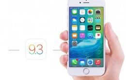 iOS 9.3 chính thức phát hành với nhiều tính năng mới