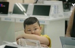 Không để trẻ em thoải mái dùng iPad