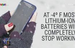 iPhone ngừng hoạt động khi thời tiết quá lạnh