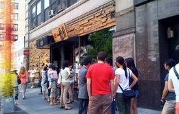 Xếp hàng dài chờ thưởng thức mỳ ramen siêu anh hùng ở New York