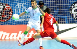 Thất bại nặng nề trước Iran, ĐT futsal Việt Nam tranh hạng 3 cùng Thái Lan