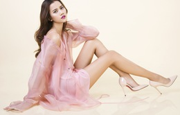 """Hương Ly Next Top Model ngọt ngào với """"Những cánh hoa rơi"""""""