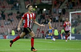 Januzaj lập siêu phẩm sút xa đưa Sunderland vào vòng 1/16 Cúp Liên đoàn