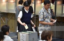 Nhật Bản bước vào cuộc bầu cử Thượng viện