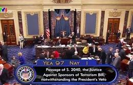 Luật JASTA - Đòn giáng mạnh đối với Tổng thống Obama và Saudi Arabia