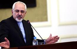 Ngoại trưởng Iran công du châu Âu