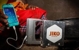 JikoPower Spark - Sáng chế biến lửa thành điện năng