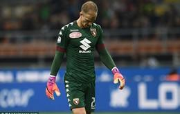 Torino thua trận vì sai lầm chết người của Joe Hart