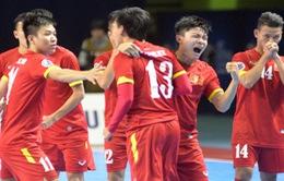 Hạ ĐKVĐ Nhật Bản, Futsal Việt Nam viết nên câu chuyện cổ tích ở giải châu Á