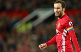 """Man Utd hòa nhạt, Mata tự cảm thấy """"vô dụng"""""""