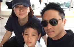 Con trai Trương Trí Lâm khoe ảnh gia đình tại Ý