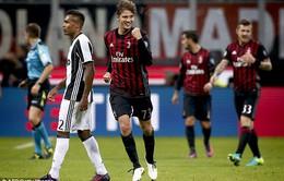 Vòng 9 Serie A: AC Milan 1-0 Juventus: Gục ngã tại San Siro