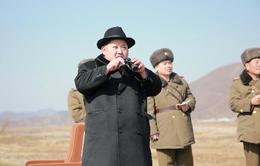 Nhà lãnh đạo Triều Tiên Kim Jong-Un thị sát không quân diễn tập
