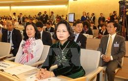 """""""Việt Nam sẽ đóng góp tích cực bảo vệ quyền con người trên khắp toàn cầu"""""""