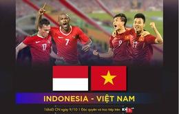 K+ tường thuật trực tiếp trận giao hữu giữa ĐT Việt Nam và ĐT Indonesia