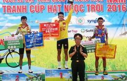 Quân khu 7 thắng lớn tại giải đua xe đạp toàn quốc về nông thôn 2016