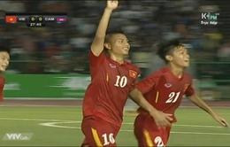 Vượt qua chủ nhà Campuchia, U16 Việt Nam gặp lại U16 Australia ở chung kết