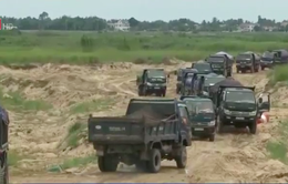 Quảng Ngãi: Phạt tiền, tước giấy phép DN khai thác khoáng sản vượt phép