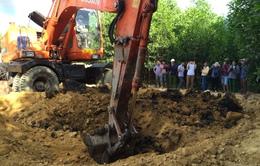 Phát hiện thêm điểm chôn lấp bùn thải của Fomosa tại Kỳ Anh