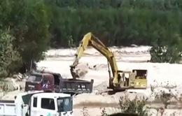 Xử lý nghiêm hành vi khai thác khoáng sản trái phép