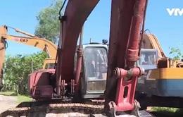 Phạt Công ty Khamihuco 40 triệu đồng vì chở cát đi bán trái phép