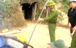 Quảng Nam truy quét đối tượng khai thác vàng trái phép