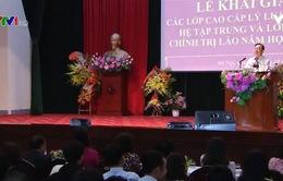 Học viện Chính trị khu vực I khai giảng năm học mới