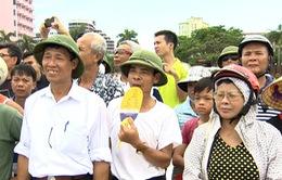 Đoàn đua nhận được sự cổ vũ nhiệt tình của người hâm mộ Hải Phòng