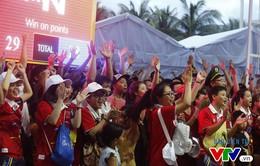 Người dân Đà Nẵng quây kín sàn đấu Muay tại Đại hội thể thao bãi biển châu Á