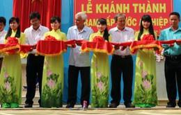 Khánh thành Trạm cấp nước cho huyện ven biển tỉnh Bến Tre