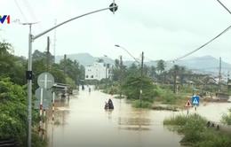 Khánh Hòa: Nhiều khu vực dân cư ở Diên Khánh ngập nước