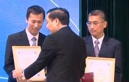 Hai nhà khoa học Việt Nam nhận giải thưởng Tạ Quang Bửu