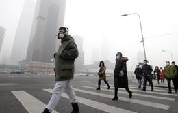 Thủ đô Bắc Kinh (Trung Quốc) ban hành cảnh báo cam về khói mù