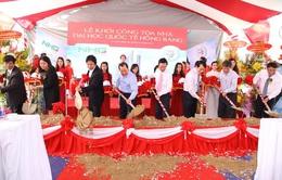 TP.HCM: Khởi công xây dựng tòa nhà Đại học Quốc tế Hồng Bàng