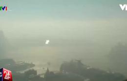 Khói mù bao phủ toàn thành phố Sydney
