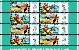Phát hành bộ tem Đại hội Thể thao bãi biển Châu Á lần thứ 5 (ABG 5-2016)
