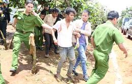 Bắt khẩn cấp 5 đối tượng tấn công cán bộ bảo vệ rừng Lâm Hà