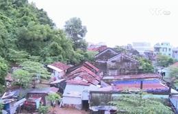 Phú Yên: Khu dân cư sống bất an bên dưới núi sạt lở