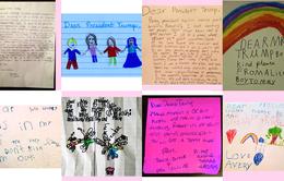 Những bức thư đáng yêu gửi ông Donald Trump của trẻ em Mỹ