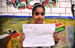 Ước mơ hòa bình của trẻ em vùng chiến sự