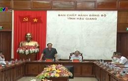 Kiểm tra phòng chống tham nhũng tại Hậu Giang và Phú Yên