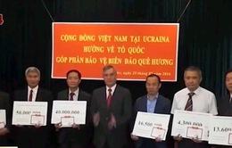 Người Việt tại Ukraine ủng hộ xây dựng Khu tưởng niệm Chiến sĩ Gạc Ma