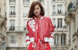 Kim Ha Neul sành điệu trên tạp chí Marie Claire