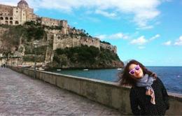 Kim Tae Hee thảnh thơi du ngoạn nước Ý